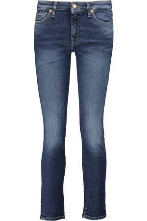 7 for all Mankind Mid-Rise Cropped Jeans Pyper