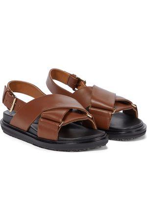Marni Sandalen aus Leder