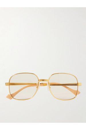 Gucci Herren Sonnenbrillen - Round-Frame -Tone Sunglasses