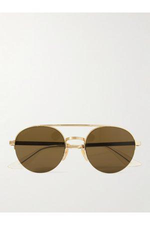 Gucci Herren Sonnenbrillen - Aviator-Style -Tone Sunglasses