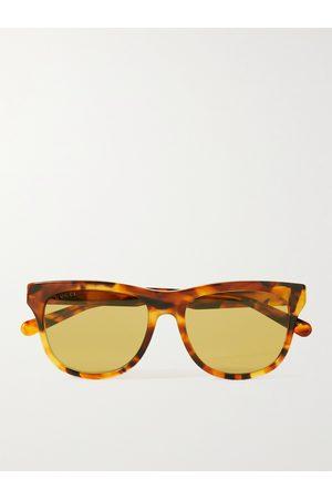 Gucci Herren Sonnenbrillen - D-Frame Tortoiseshell Acetate Sunglasses
