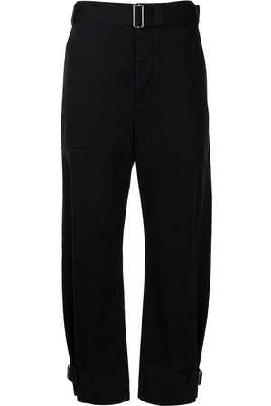 PROENZA SCHOULER WHITE LABEL Damen Hosen & Jeans - Tapered-Hose mit Gürtel