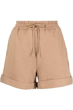 3.1 Phillip Lim Damen Shorts - EVERYDAY TERRY SHORTS - Nude