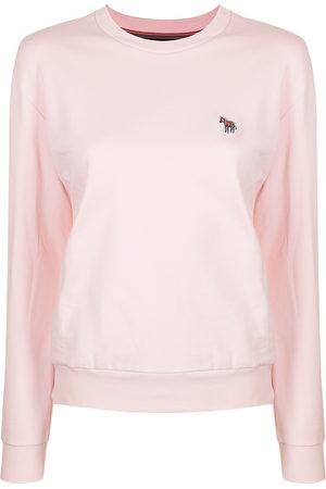 Paul Smith Damen Sweatshirts - Organic cotton horse-patch sweatshirt