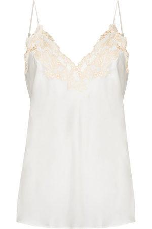La Perla Damen Unterhemden & Unterziehshirts - Maison Camisole-Top mit floraler Spitze