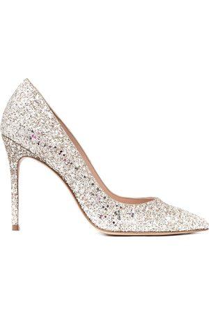 Sophia Webster Spitze Pumps mit Glitter-Details