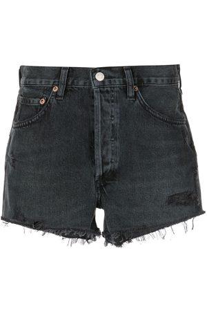 AGOLDE Taillenhohe Parker Jeans-Shorts