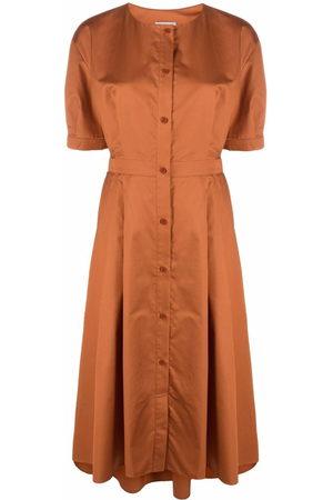 12 STOREEZ Damen Partykleider - Button-down flared dress
