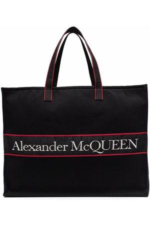 Alexander McQueen Shopper aus Canvas