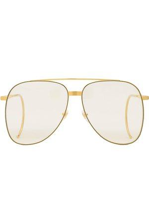Gucci Herren Sonnenbrillen - Getönte Pilotenbrille