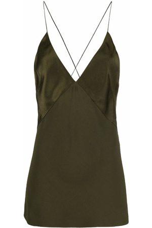 Haider Ackermann Damen Tanktops - Longline V-neck camisole