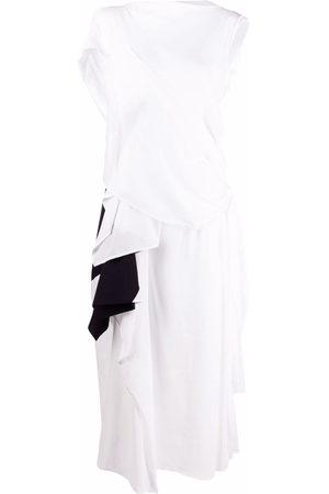 Yohji Yamamoto Deconstructed maxi dress