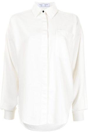 PROENZA SCHOULER WHITE LABEL Hemd mit Knöpfen