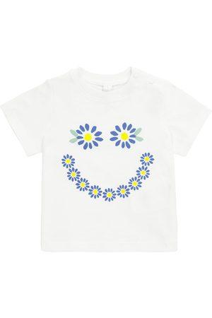 Stella McCartney Baby T-Shirt aus Baumwoll-Jersey