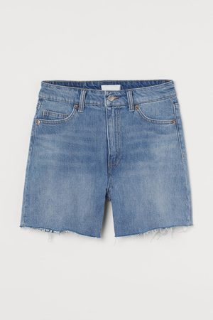 H&M Damen High Waisted - Jeansshorts High Waist