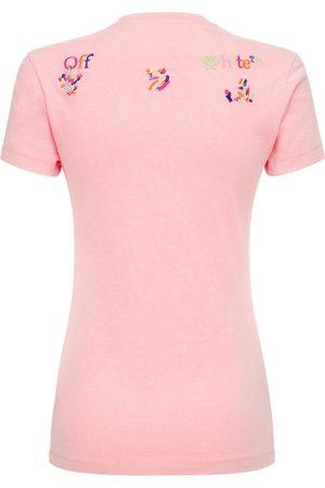 OFF-WHITE T-shirt Aus Baumwolle, Lvr Exclusive