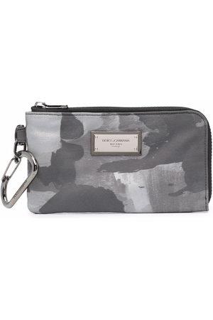 Dolce & Gabbana Herren Geldbörsen & Etuis - Printed zip-around wallet