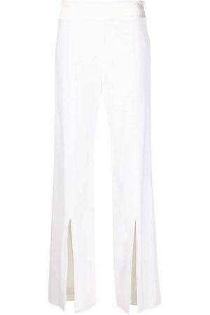 Jonathan Simkhai Damen Hosen & Jeans - Crepe straight-leg trousers