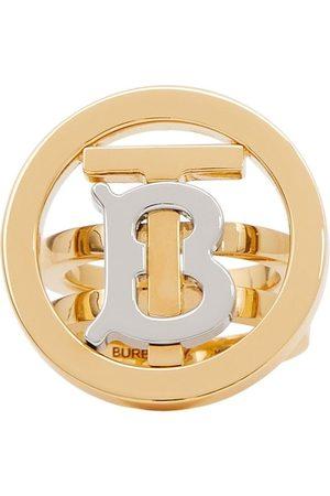 Burberry Zweifarbiger Ring mit Monogramm