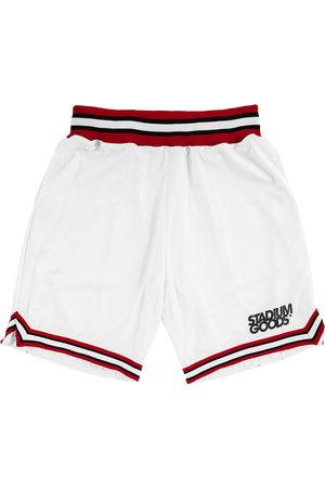 Stadium Goods Chi logo-print track shorts