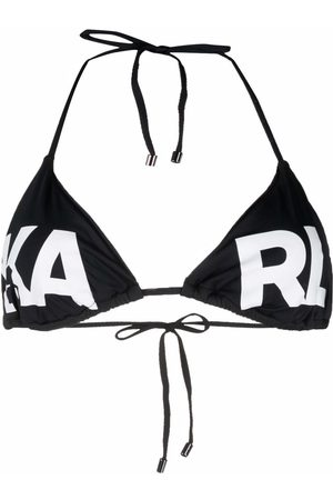 Karl Lagerfeld Damen Bikinis - Bikini mit Logo-Print