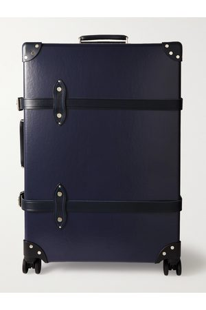 """Globetrotter Centenary 30 Leather-Trimmed Trolley Case"""""""