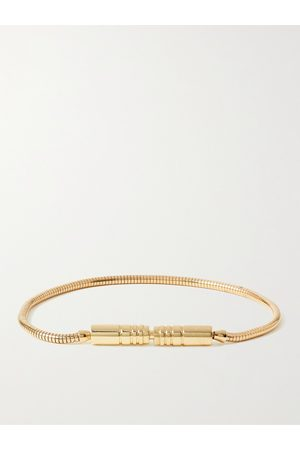 LUIS MORAIS Liquid Plug Lock 18-Karat Bracelet