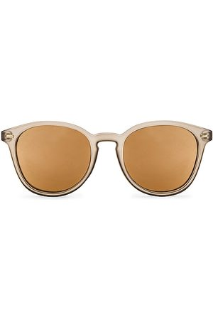 Le Specs Bandwagon Sunglasses in ,Taupe.