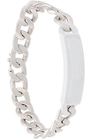 Maison Margiela Herren Armbänder - Armband mit Kettendetail - Metallisch