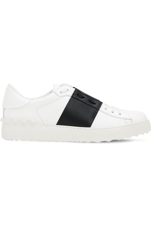 "VALENTINO GARAVANI 20mm Hohe Ledersneakers ""open"""