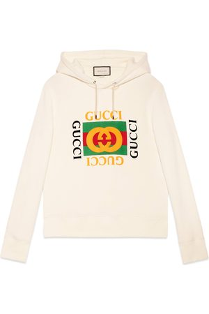 Gucci Herren Sweatshirts - Übergroßer Pullover mit Logo