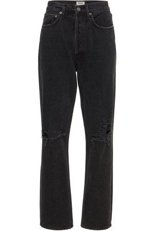 "AGOLDE Damen Cropped - Mittelhohe Jeans Aus Baumwolldenim ""90's"""
