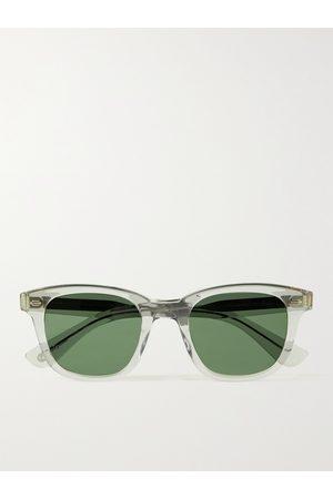 GARRETT LEIGHT CALIFORNIA OPTICAL Calabar D-Frame Acetate Sunglasses