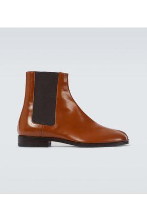Maison Margiela Damen Stiefeletten - Chelsea Boots Tabi aus Leder