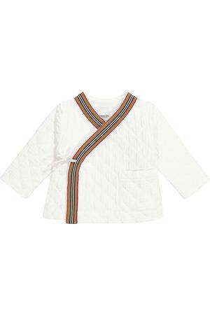 Burberry Steppjacke Archive Stripe aus Baumwolle