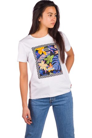 Vans Damen Shirts - Border Box Trop T-Shirt