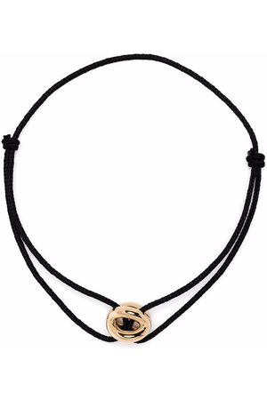 Le Gramme 18kt yellow 3g polished entrelacs cord bracelet