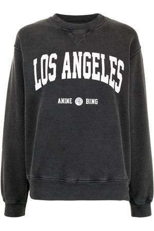 "ANINE BING Sweatshirt mit ""Los Angeles""-Print"