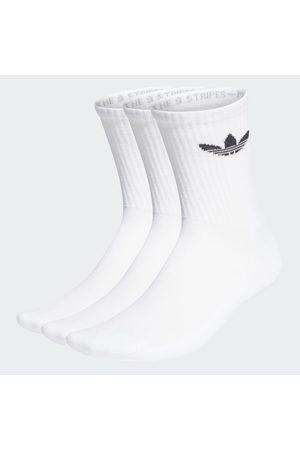 adidas Cushioned Trefoil Mid-Cut Crew Socken, 3 Paar