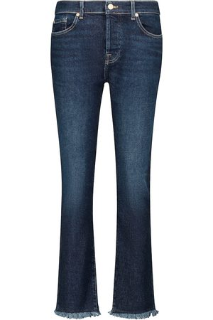7 For All Mankind Mid-Rise Jeans Asher Luxe Vintage