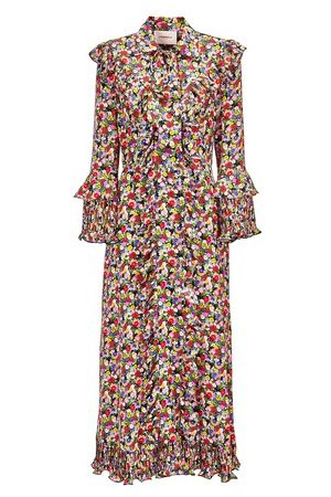 La DoubleJ Damen Freizeitkleider - Langes Kleid Fancy