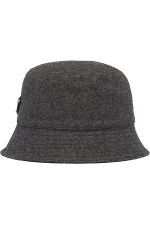 Prada Herren Hüte - Regenhut aus Loden