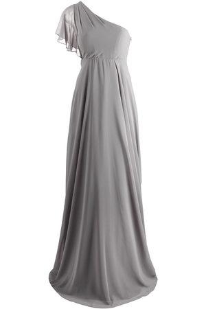 Marchesa Notte Cremona One-Shoulder-Kleid
