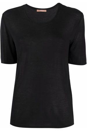 12 STOREEZ T-Shirt aus geripptem Strick