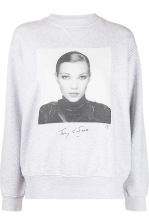 ANINE BING Sweatshirt mit Kate-Moss-Print