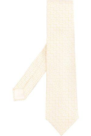 Hermès Pre-owned Jacquard-Krawatte mit Logo