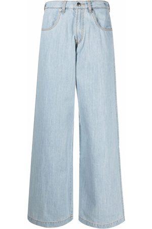 SOCIÉTÉ ANONYME High-rise wide-leg jeans