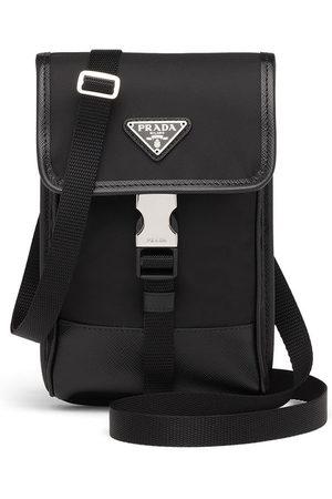Prada Logo-plaque crossbody bag
