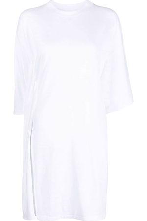 MM6 MAISON MARGIELA Draped asymmetric T-shirt dress