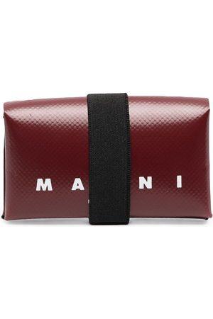 Marni Origami PVC-Portemonnaie mit Logo